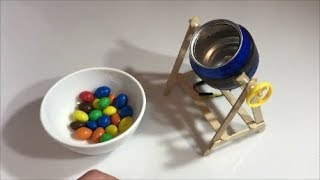 How to make cement mixer with your own hands. Children's toy.