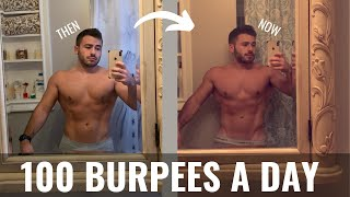 I DID 100 BURPEES A DAY FOR 100 DAYS | Here's What Happened!