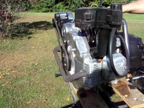 Cushman Truckster Engine Youtube
