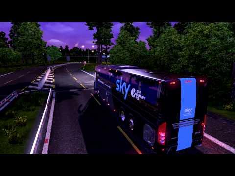 Euro Truck Simulator 2 Bus trip to Strasbourg with Volvo 9700 p2