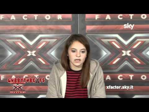 X FACTOR 5,FRANCESCA MICHIELIN SI PRESENTA (16-24 Donne,Simona Ventura)