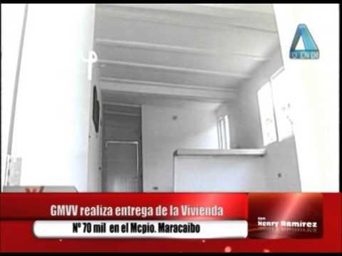 Arias Cárdenas entrega casas en el sector 18 de Octubre de Maracaibo