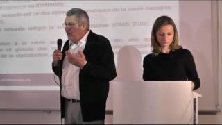 Conférence : la santé sexuelle de quel droit ? - Me Ingrid GERAY - Pr Thierry TROUSSIER