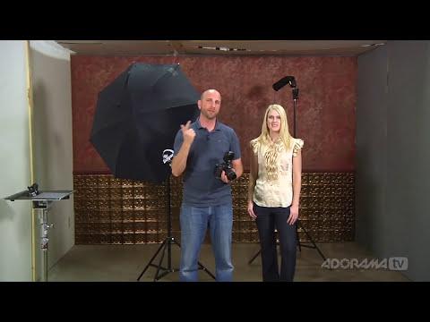 Small Studio Flash Tips: Ep 208: Digital Photography 1 on 1: Adorama Photography TV