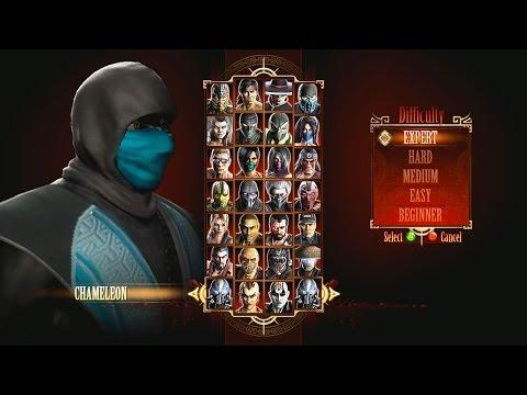 Mortal Kombat 9 Chameleon