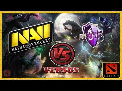NaVi vs RSNAKE(rattlesnake) Starladder 7 Dota 2 (RUS)