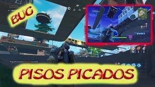 BAJO el suelo de PISOS PICADOS | Nuevo BUG EXPLICADO!! | FORTNITE BATTTLE ROYALE