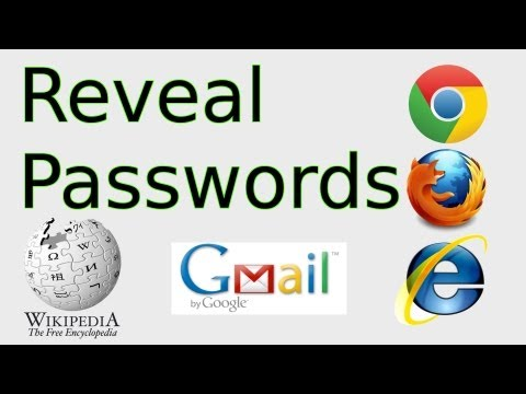 How to Reveal Passwords (Inspect Element in Chrome, FireFox, Internet Explorer)