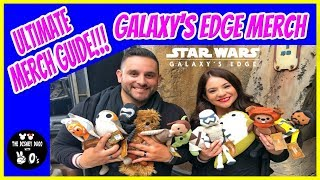 ALL NEW ULTIMATE Merch Guide for Galaxy's Edge! (Merch Overload on Batuu!)
