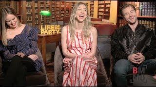 Debby Ryan, Heidi Gardner, & Luke Benward Interview - Life of the Party
