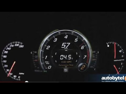 2014 Chevy Corvette Stingray Z51 0-60 MPH Test Video