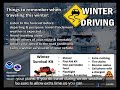 Winter Weather -Knowing the DIfference