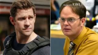 Jim and Dwight face a new breed of terrorism in 'Jack Ryan'-'The Office' mash-up