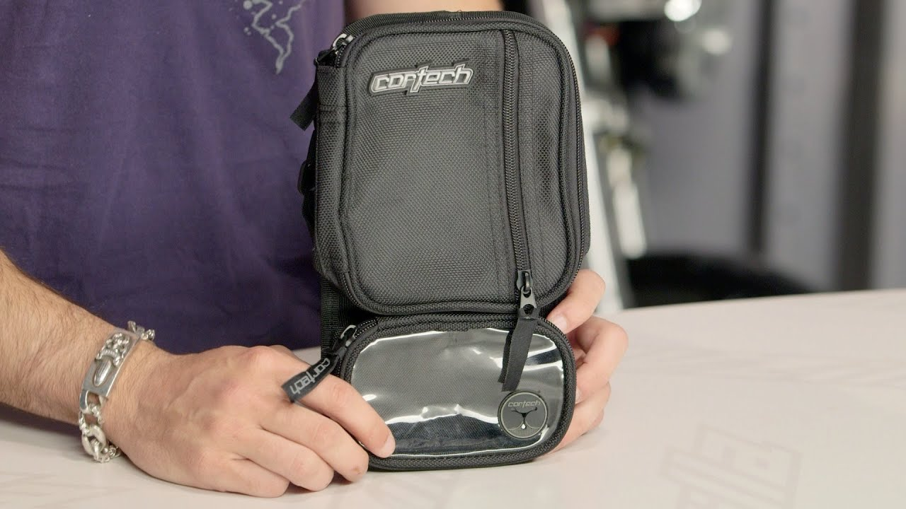 Micro Motorcycle Tank Bag Cortech Micro Tank Bag Review