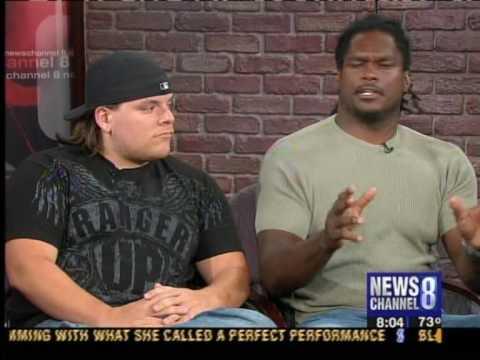 Chad Dukes & Lavar Arrington News Channel 8 Sports Talk part 1