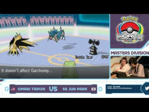 Pokemon World Championship 2014 - Se Jun Park vs Omari Travis (1st) - BASED GOD PACHIRISU
