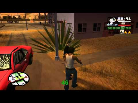 GTA San Andreas - Alle 100 Graffitis [HD]