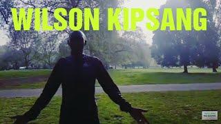 LONDON MARATHON 2019 | Wilson Kipsang Trains On His Own