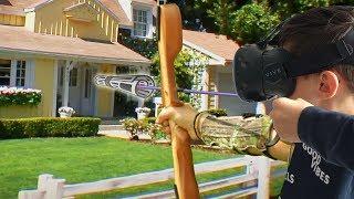 KRANT IN JE OOG !! | #ARCHERY VR (HTC Vive)