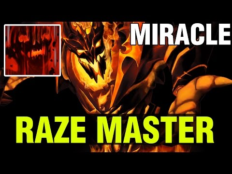 MIRACLE IS THE RAZE MASTER !! - SHADOW FIEND - Dota 2