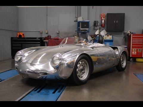Restored 1958 Porsche 550A Spyder