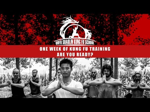 One Week of Training - Are you ready? - Learn Traditional Martial Arts in China