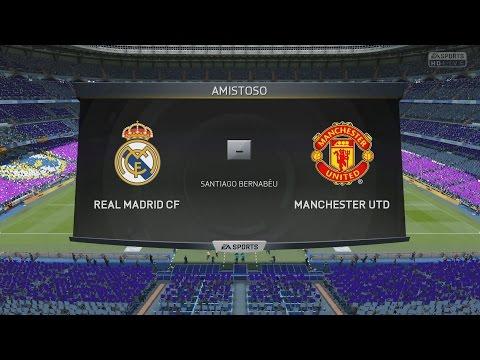 Manchester United 2015 vs Real Madrid 2015 | Fifa 15 | Duelo de los equipos más caros
