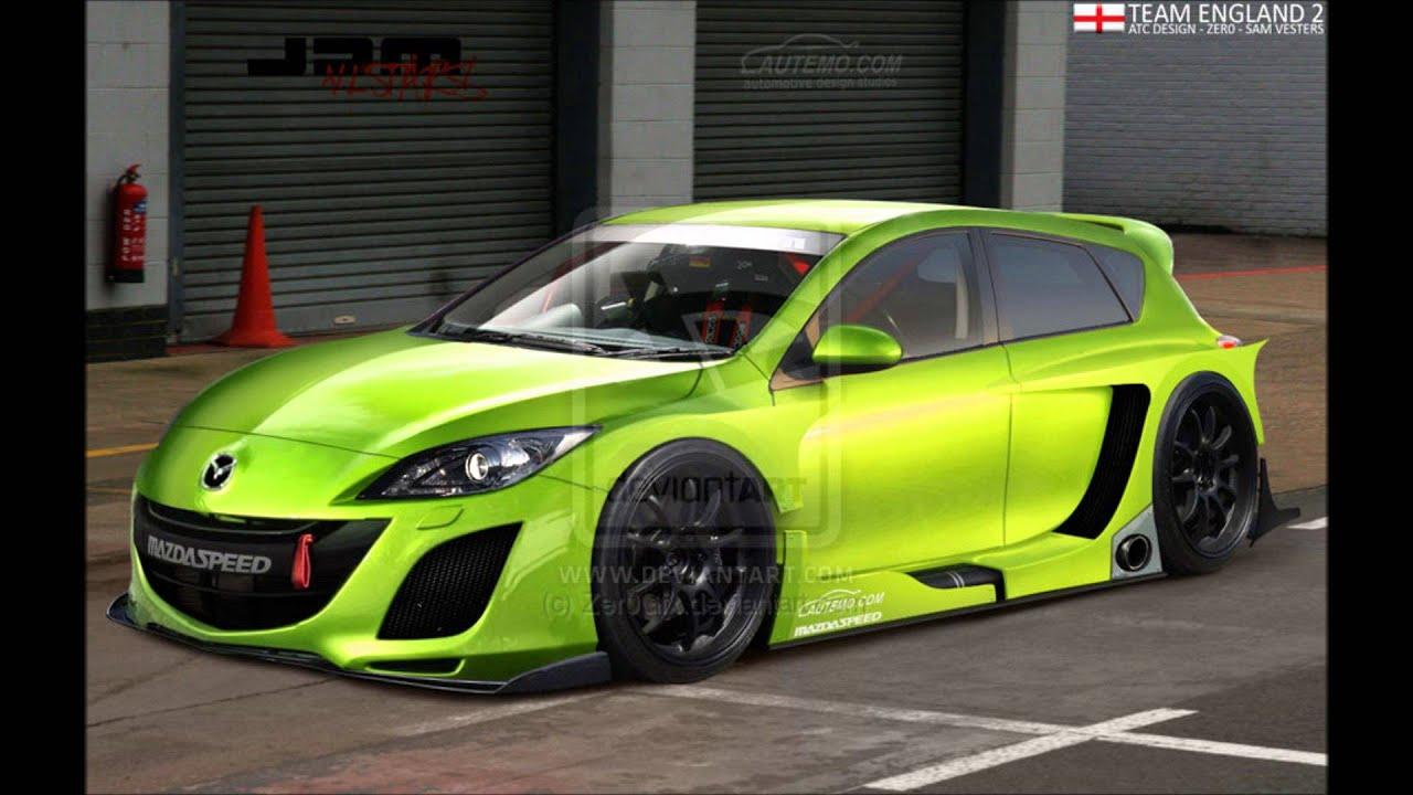 Mazda 3 Hatchback Customized Youtube