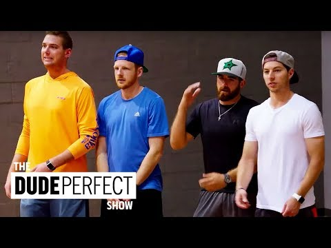 THE DUDE PERFECT SHOW | Cory Cotton Takes On A Ping Pong Champion!