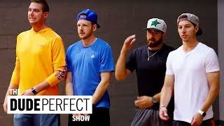 Download Song THE DUDE PERFECT SHOW | Cory Cotton Takes On A Ping Pong Champion! Free StafaMp3