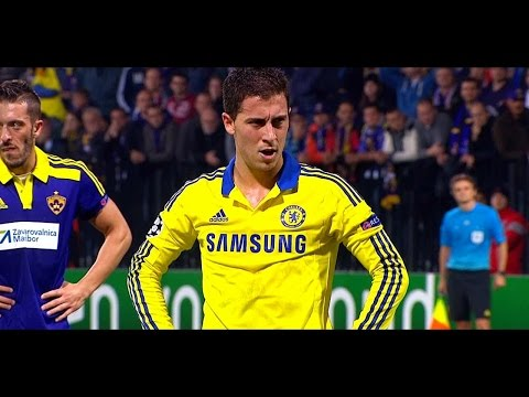 Eden Hazard vs Maribor (Away) 14-15 HD 720p By EdenHazard10i