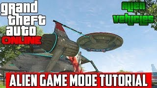 GTA 5 Online: ALIEN UFO - MODDED HELICOPTERS - SPACE DOCKERS GAME MODE