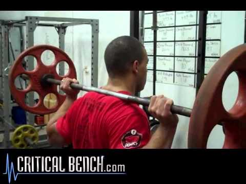 Powerlifting Style Squat Tips with Mike Westerdal Image 1