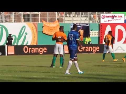 Sierra Leone/Côte d'Ivoire à Abidjan: Un fan de Salomon Kalou se mèle à la rencontre