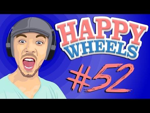Happy Wheels - Part 52   BRAKES ARE KEY!!
