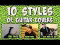 10 Styles Of Guitar Covers mp3