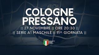 Serie A1M [11^]: Cologne - Pressano 19-25