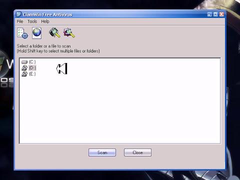 Como descargar el antivirus Clamwin tutorial en español latino
