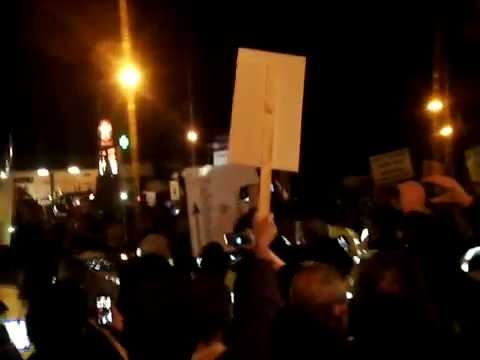 Footage of Sligo protest uploaded by Andrew Gilmartin
