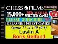 Chess Gelfand 130 Best Games 17 Of 130 Lastin A Vs Boris Gelfand mp3