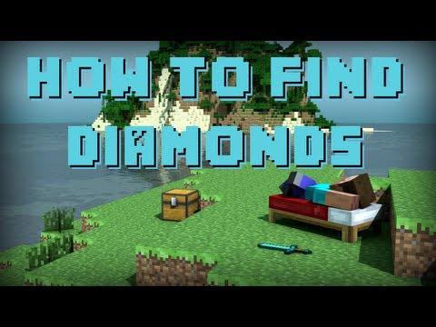 [1.7.10] Find DIAMONDS Easy in Minecraft! FAST Mining Technique [2014] [NEW]