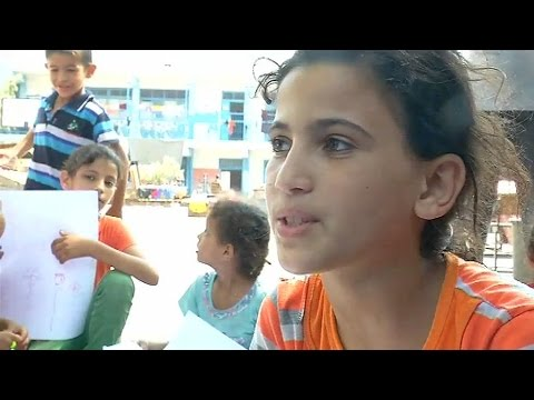 REPORTAGE A GAZA: comment les enfants vivent-ils la guerre?