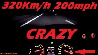 NIGHT POV 0-320 Km/h 0-200 mph on Autobahn - Lamborghini LP570-4 Performante   40 Perform