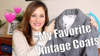 Favorites - My Vintage (or Vintage Inspired) Coats