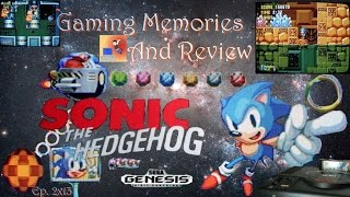 Sonic The Hedgehog - Gaming Memories And Review