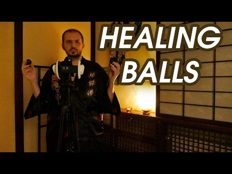 Chinese Healing Balls (ASMR Session)