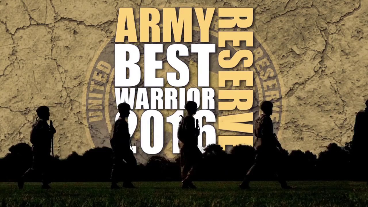 2016 Army Reserve Best Warrior end of competition video.