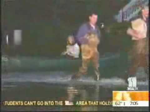 Broadcast journo exaggerates flood