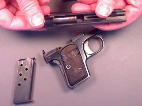 Coltautos.com - Colt Model 1908 Vest Pocket .25 Basic Disassembly