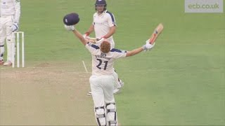 Highlights Jonny Bairstow hits unbeaten 219 for Yorkshire against Durham